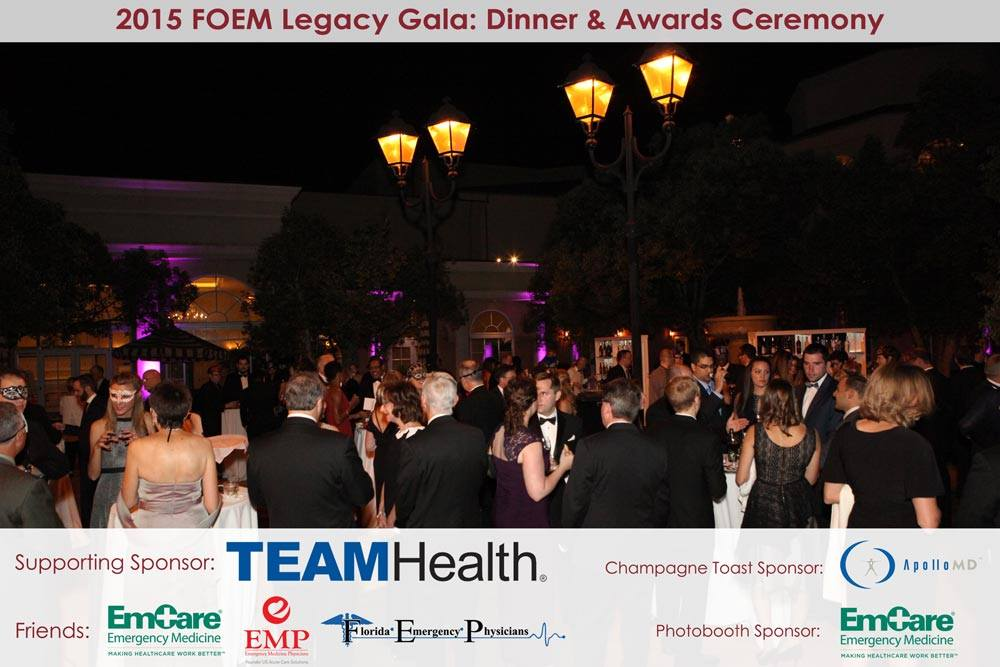 2015 FOEM Legacy Gala: Dinner & Awards Ceremony