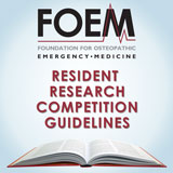 FOEM Research Competitions Guidelines